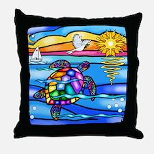 SeaTurtle 8 - MP Throw Pillow