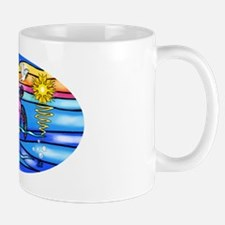 SeaTurtle 8 - OVAL Small Small Mug