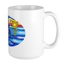 SeaTurtle 8 - OVAL Mug
