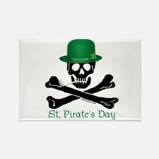 St Pirate's Day (CW) Rectangle Magnet