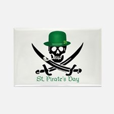St Pirate's Day (SW) Rectangle Magnet
