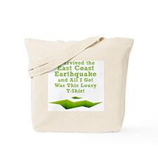 earthquake-tshirt Tote Bag
