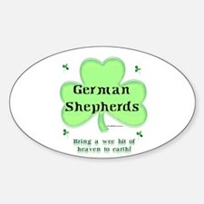 GSD Heaven Oval Decal