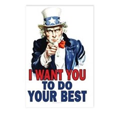 11x17_unclesam_do_best_sm Postcards (Package of 8)