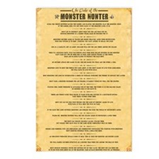 monstercodeposter_large c Postcards (Package of 8)