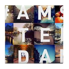 #AMSTERDAM Tile Coaster