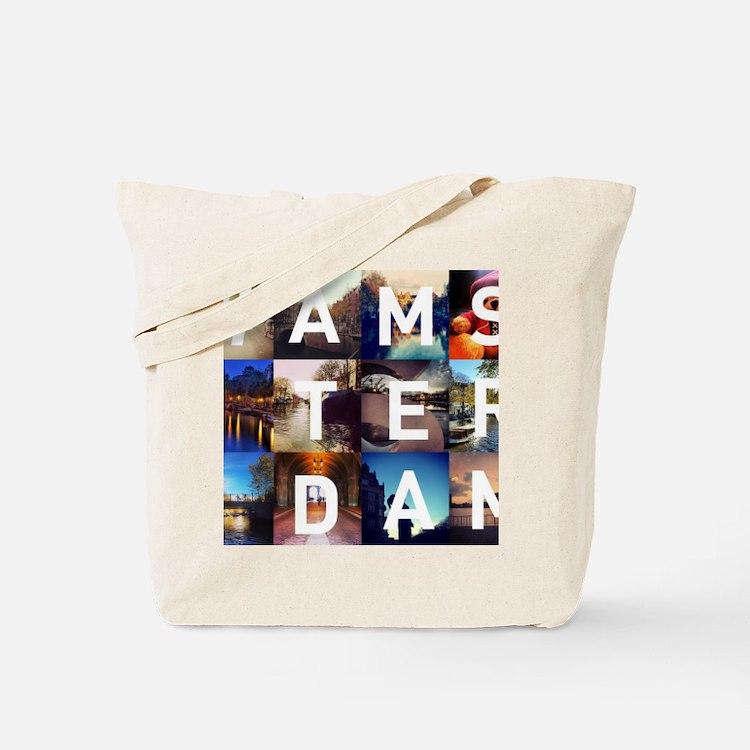 #AMSTERDAM Tote Bag