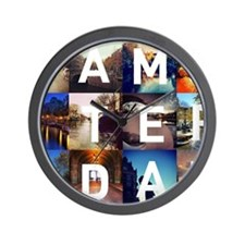 #AMSTERDAM Wall Clock
