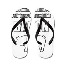 prohibit_bacon Flip Flops