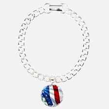 Statue of Liberty Charm Bracelet, One Charm