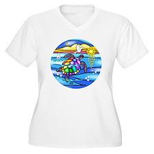 SeaTurtle 8 - rou T-Shirt