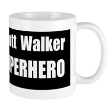 scott walker superherobumper Mug