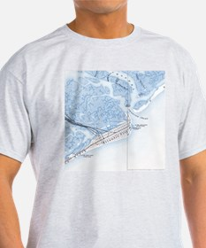 Atlantic City, NJ in 1894 Ash Grey T-Shirt