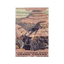 192_greeting-card_grand_canyon Rectangle Magnet