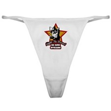 Fight The Power Gnome Classic Thong