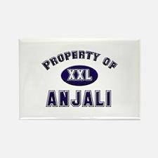 Property of anjali Rectangle Magnet
