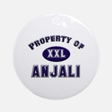 Property of anjali Ornament (Round)