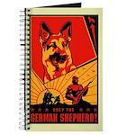Obey the German Shepherd! Journal