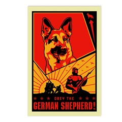German Shepherd! Postcards (Package of 8)
