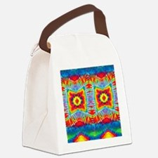 Colorful Tie-Dye Canvas Lunch Bag