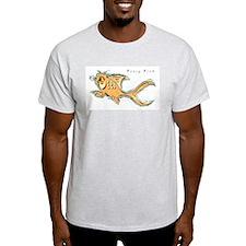 Fancy Fish Ash Grey T-Shirt