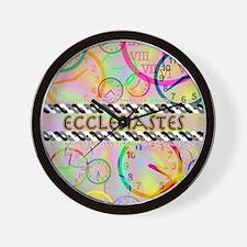 Ecclesiastes Poster Wall Clock