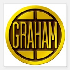 "graham-paige-1927-1946-g Square Car Magnet 3"" x 3"""