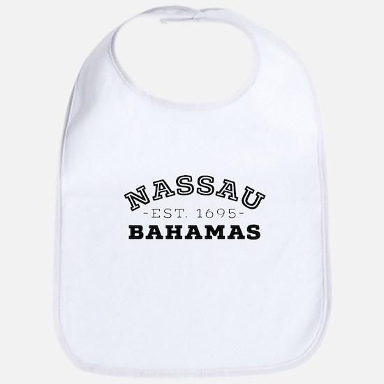 Nassau Bahamas Baby Bib