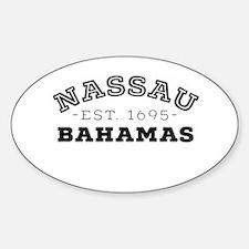 Nassau Bahamas Decal
