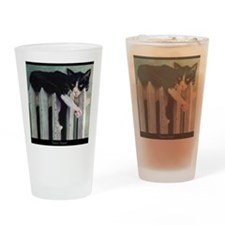 toastytuxedocardcafe Drinking Glass