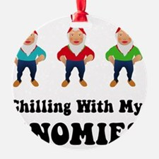 Gnomies Black Ornament