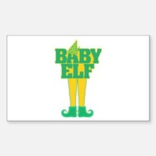 Baby Elf Sticker (Rectangle)