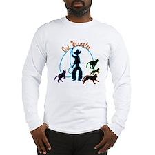 Cat Wrangler Light Long Sleeve T-Shirt