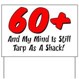 60th b day Yard Signs