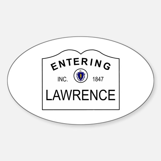 Entering Oval Decal