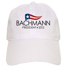 SQ_bachmann_flag_04 Baseball Cap
