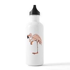 Flamingo Pink Water Bottle