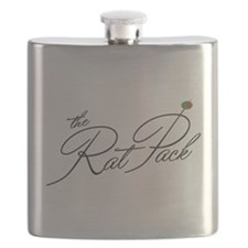 The Rat Pack Olive Flask