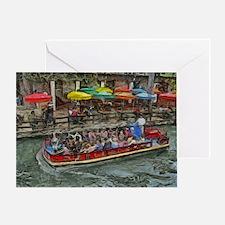 River Walk 14 x 10 Greeting Card