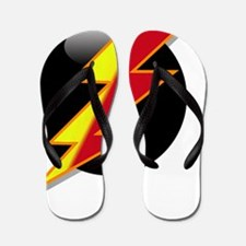 Flash Two Tone Flip Flops