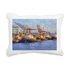 tugs 14 x 10 Rectangular Canvas Pillow