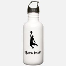 Hoops Dude Black Water Bottle