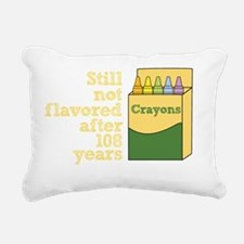 Crayons Rectangular Canvas Pillow