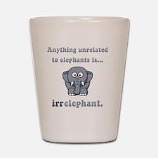 Irrelephant Grey Shot Glass