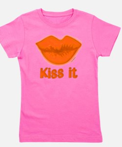 OrangeKissitfilled10x10 Girl's Tee
