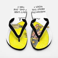 Funny Witch Pelosi Flip Flops