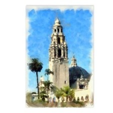 balboa tower 14 x 10 Postcards (Package of 8)