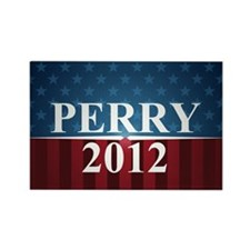 perrystarbutton Rectangle Magnet