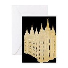 SLC Temple Greeting Card