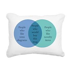 10x10_mug_Venn Rectangular Canvas Pillow